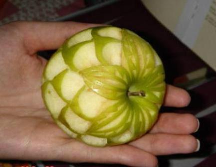 Карвинг овощей и фруктов пошаговые фото