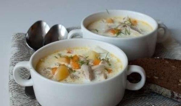 куриный суп со сливками (600x352, 30Kb)