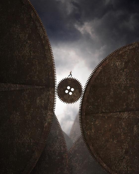 фантастический миром фотохудожника,  Джорджа Христакис3 (560x700, 421Kb)