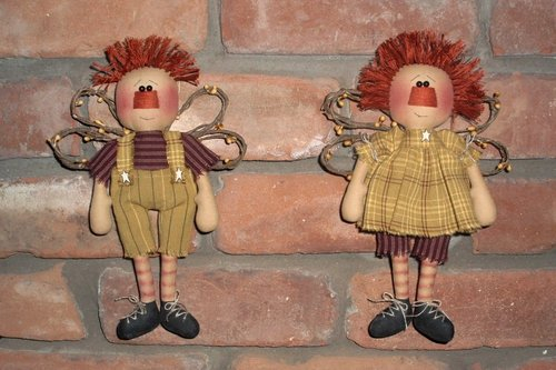 Веселый ангел - кукла своими руками, куклы своими руками