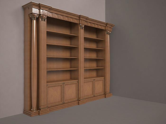 biblioteka iz dereva dub mebel-24.com.ua (700x525, 64Kb)