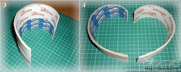 Красивая шкатулка для дома из бобин от скотча1 (604x242, 124Kb)
