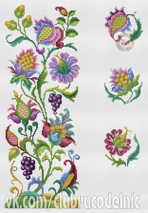 Jacobean Bellpull (487x700, 336Kb)