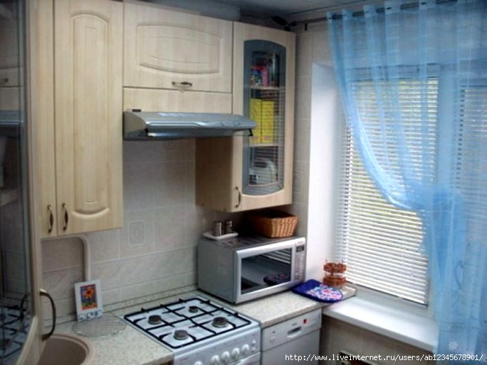 Ремонт на кухне 9 метров фото своими руками