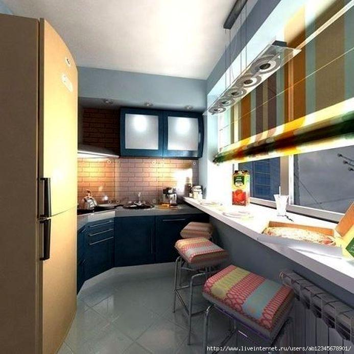В тесноте, да не в обиде: продумываем дизайн маленькой кухни.