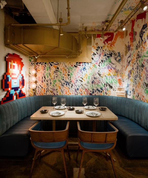 ресторан в стиле стрит-арт гонконг 6 (583x700, 435Kb)