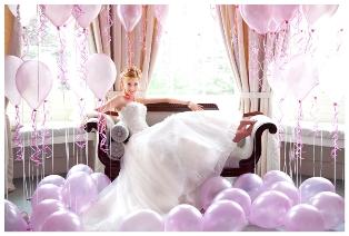 Оформление воздушными шарами свадеб