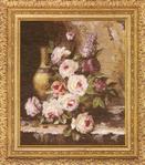 Превью ГН-003 Мраморные розы (450x513, 330Kb)