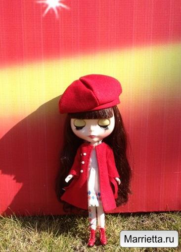 Выкройка пальто и беретки для куклы (4) (366x508, 181Kb)