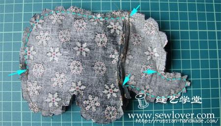 Как сшить текстильного СЛОНИКА (8) (450x257, 114Kb)