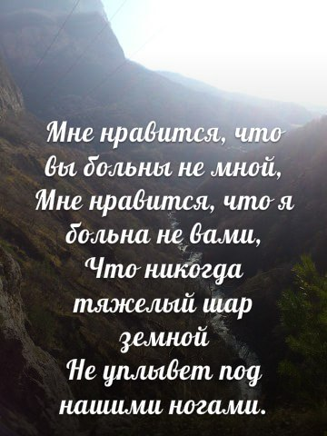 Загадка стихотворения «Мне нравится, что вы больны не мной» (360x480, 41Kb)