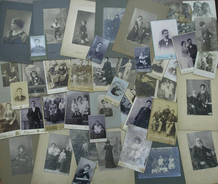 Фрида и Саша Фердман. Фотографии из альбома (700x591, 109Kb)