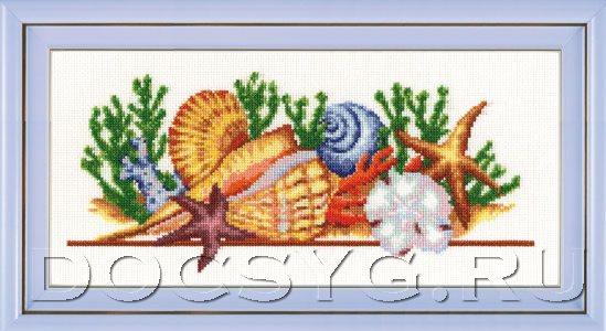 вышивка ракушки - Самое