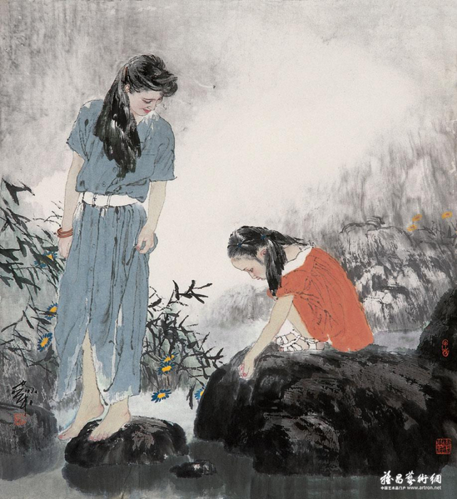 He-Jiaying-contemporary-chinese-artist-chinese-painting+%286%29 (642x700, 384Kb)