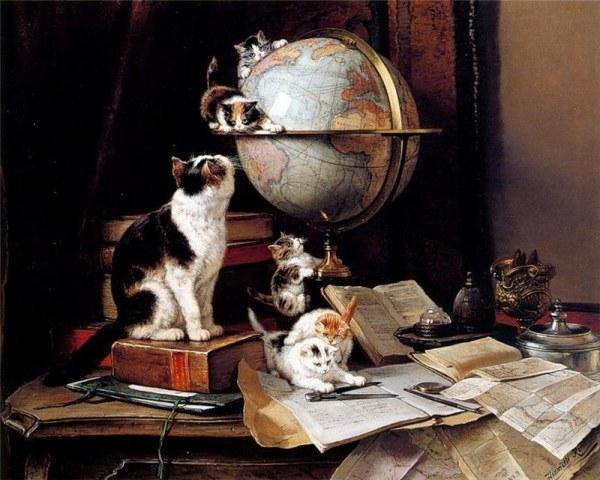 кошки (600x480, 176Kb)