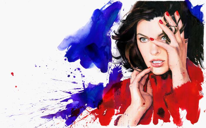 Marcela-Gutierrez-Milla-Jovovich-Inez-and-Vinoodh-Marella-campaign (700x437, 363Kb)