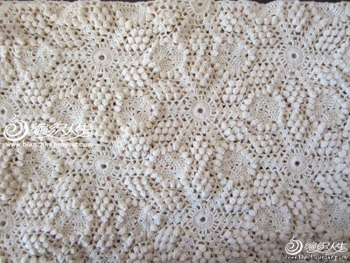 Летняя белая юбка крючком. Схемы (14) (700x525, 313Kb)
