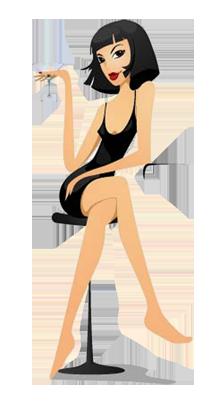 The-Sexy-Girl-with-Black-Mini-Dress (219x402, 63Kb)