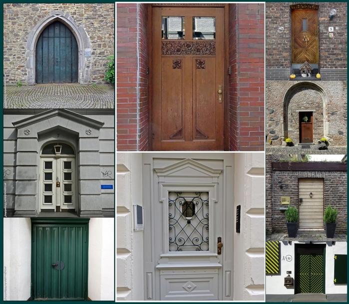 Двери: Дюссельдооф, Зиген, Цонс