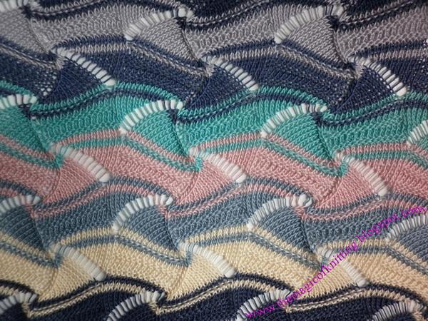 узор миссони спицами - Самое