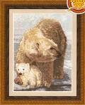 Превью ДЖ-002 Белые медведи (450x559, 320Kb)