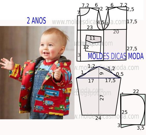 Сшить детский пиджак своими руками