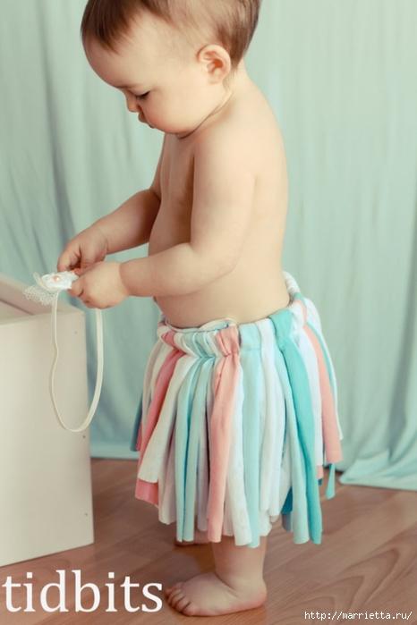 ТУТУ юбочка из трикотажа для малышки (11) (466x700, 162Kb)