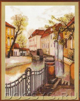 схема вышивки Старая Прага (336x426, 159Kb)
