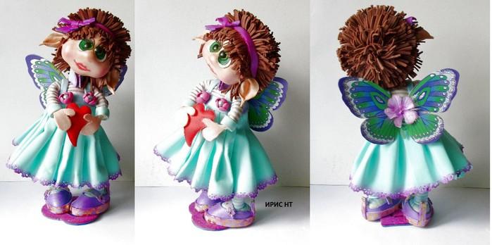 Кукла из фоамирана мастер класс фото