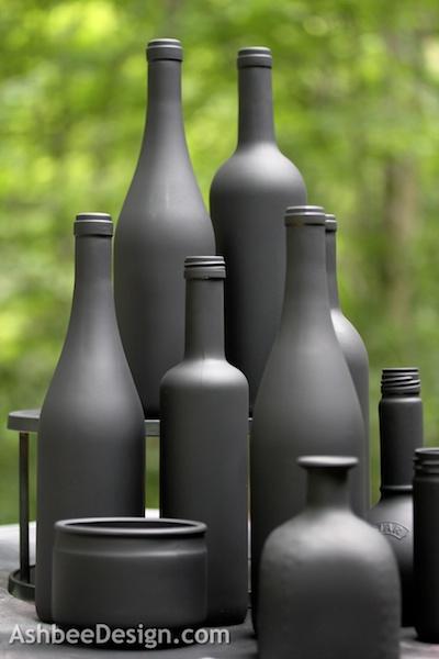 Декоративные винные бутылки своими руками (5) (400x600, 139Kb)