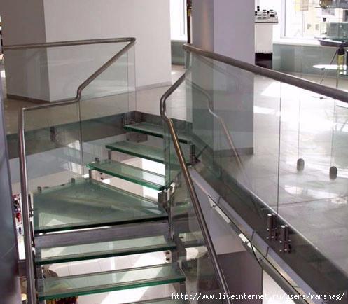 Стеклянные перила и лестницы (7) (497x434, 120Kb)