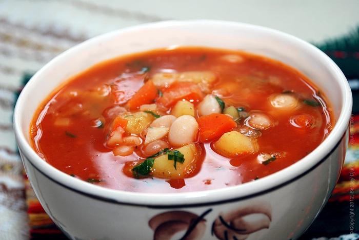 фасолевый суп (700x468, 304Kb)