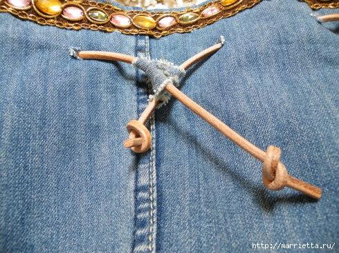 Сумка в спортивном стиле из старых джинсов (2) (490x367, 202Kb)
