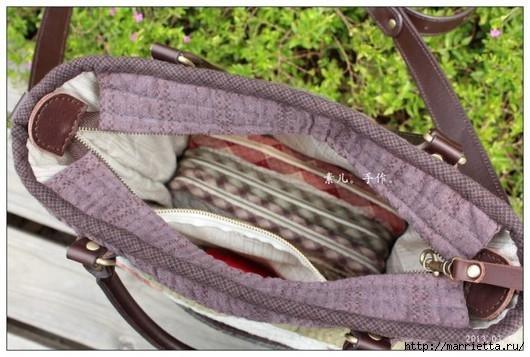 Лоскутное шитье. Сумочки с аппликацией (6) (530x357, 144Kb)