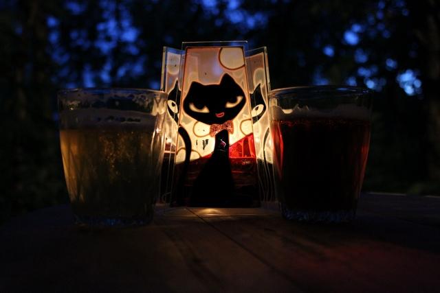 вечернее пиво