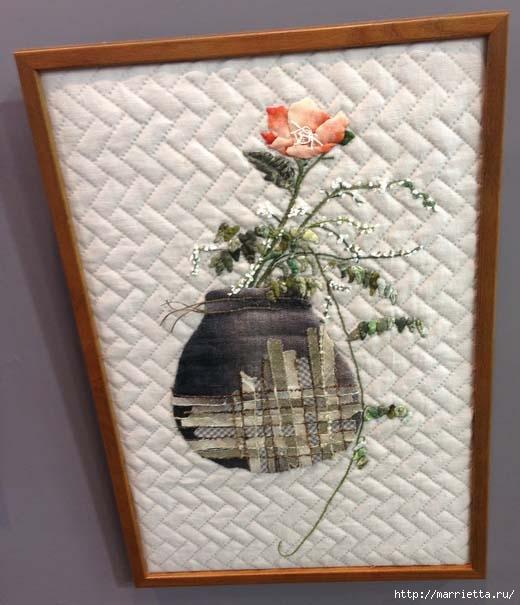 Лоскутное изобразительное искусство от японских мастериц. Часть 1 (13) (520x605, 146Kb)