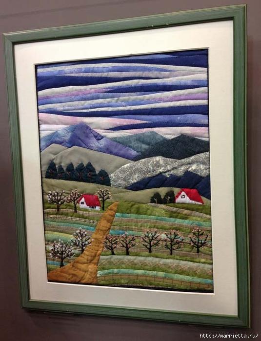 Лоскутное изобразительное искусство от японских мастериц. Часть 2 (29) (535x700, 251Kb)