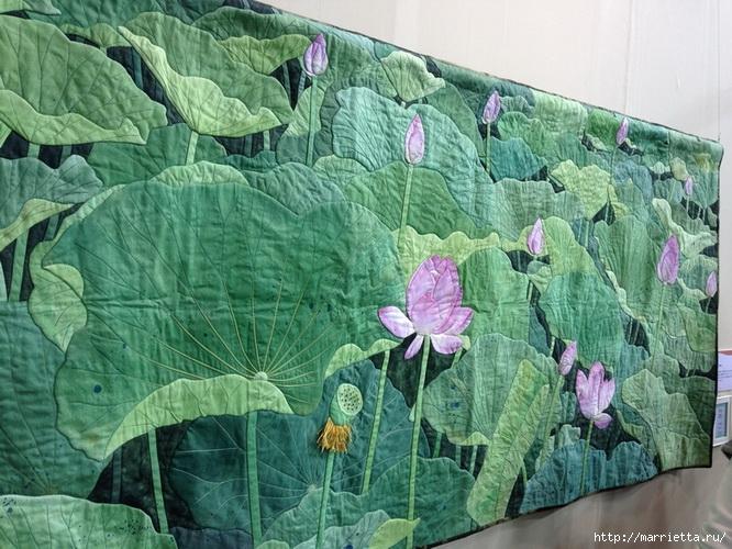 Лоскутное изобразительное искусство от японских мастериц. Часть 1 (43) (666x500, 291Kb)
