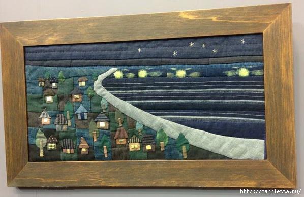 Лоскутное изобразительное искусство от японских мастериц. Часть 1 (47) (598x388, 164Kb)