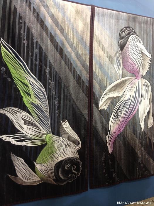 Лоскутное изобразительное искусство от японских мастериц. Часть 1 (59) (525x700, 323Kb)