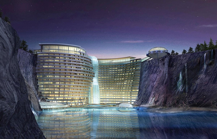 отель в каменоломне китай 1 (700x449, 326Kb)