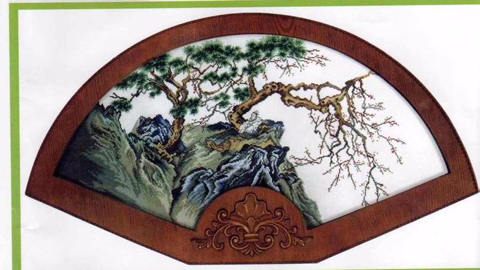 Dome 60102 Oriental Landscape (700x393, 278Kb)