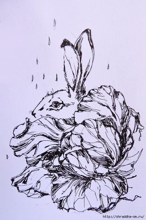Заяц и Волшебная Шляпа от Shraddha (6) (466x700, 291Kb)