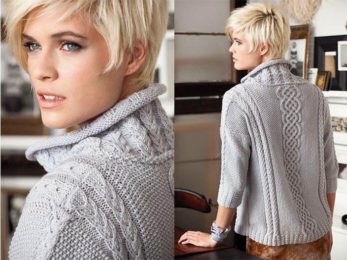 Вязание свитер женский схемы