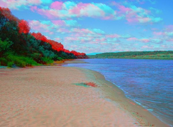 Красивые пейзажи - стерео картинки анаглиф 17 (600x442, 69Kb)