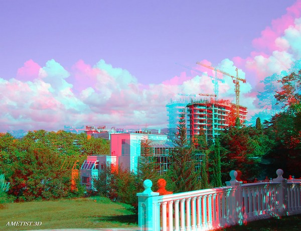 Красивые пейзажи - стерео картинки анаглиф 23 (600x461, 88Kb)