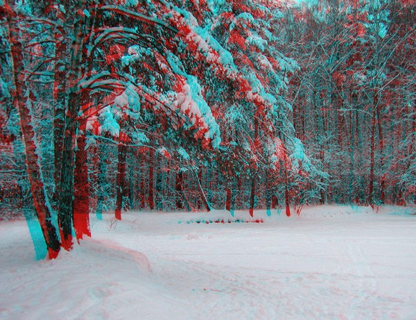 Красивые пейзажи - стерео картинки анаглиф 66 (600x461, 128Kb)