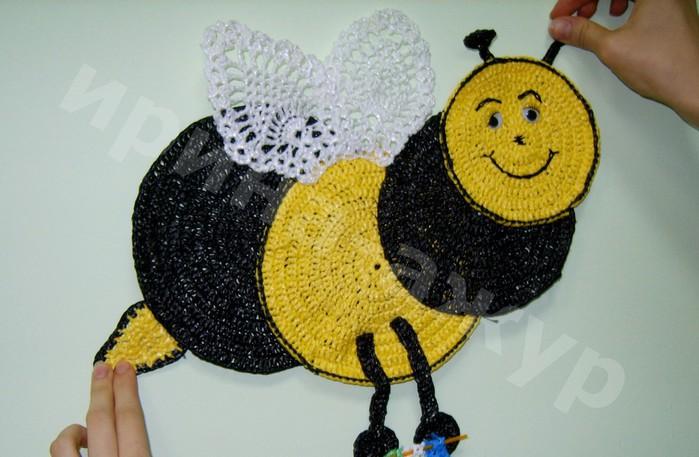 用垃圾袋钩的:蜜蜂 - maomao - 我随心动