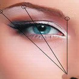 выщипывать брови - три линии (261x262, 11Kb)