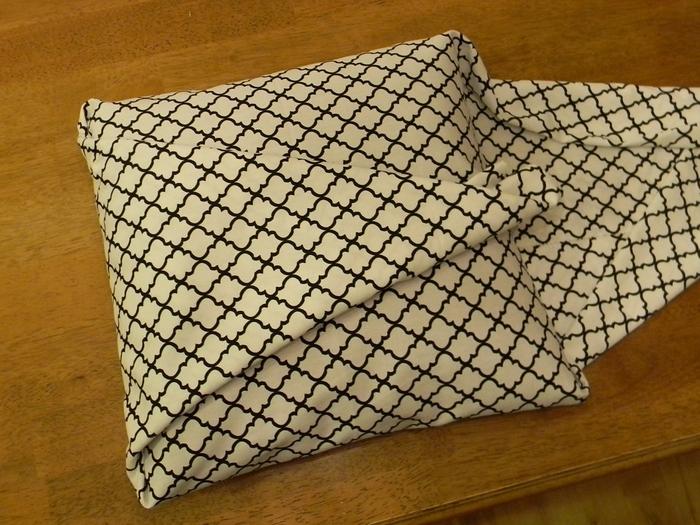 Наволочка для подушки без швейной машинки